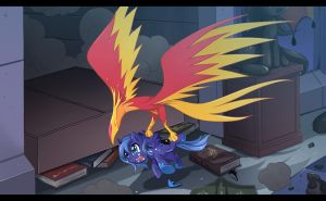 Woona getting caught by JinZhan