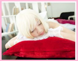 Chobits - Chii is sleeping by nyaomeimei