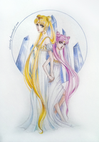 Neo-Queen Serenity Princess Chibiusa by ShiNasty