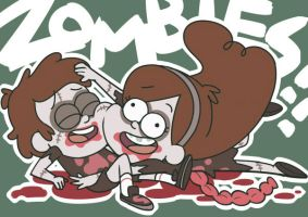 Zombies!! by hentaib2319