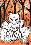 The White Fox by WhiteTigerVincent
