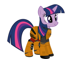 Twilight Sparkle's HEV Suit by HiveLordLusa