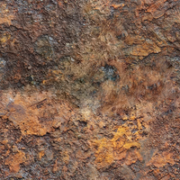 Rusted Metal 01 A by botpl
