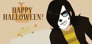 OC: John- HAPPY HALLOWEEN!!! by Jayethewolf
