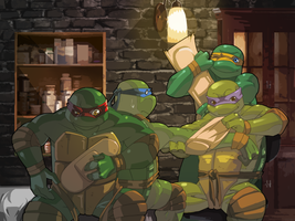 TMNT-Band-Aid by tmask01