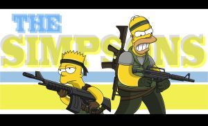 The Simpsons Wallpaper by adsta