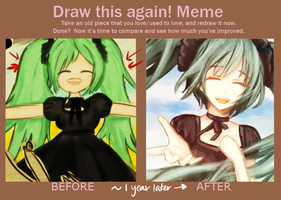 Draw this again meme /o/ by cieldesuyo