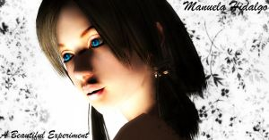 A Beautiful Experiment - Manuela 2 by Claire-Kaede