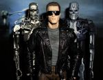 Arnie and the Terminators by CyberDrone2-0