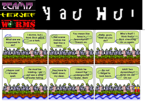 Worms Terjef comic 1 by thefreaks
