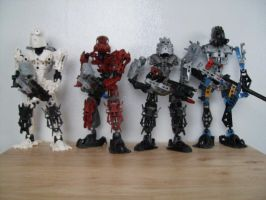 BIONICLE In Arms Complete by BioMutt70