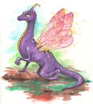 Faerie Dragon by Irrisor-Immortalis