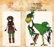 The SkywardSwordSchool: Lyre Pigeol by TheKiro