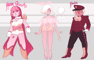 CLOSED pink gem adopts by noodlesqueen