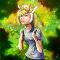 Fionna and Cake FanArt by lalainelucero
