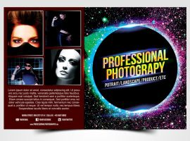 Professional Photography Flyer by pascreative