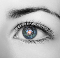 Galactic Eye by Christawashere