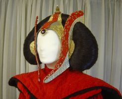 Queen Amidala's throne gown 1 by azdaja