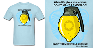 Portal Combustible Lemon Shirt by Enlightenup23