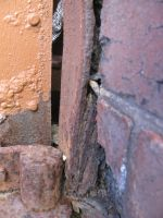 Rust door frame in detail by Friday-On-a-TuEsDaY