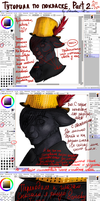 SAI Coloring tutorial. Part 2 by Aleksandra-Cat
