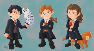 Harry Potter by Kanis-Major