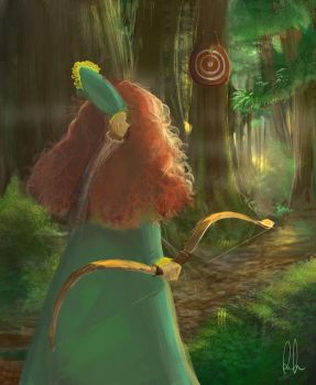 Merida's Day out by linniie-POO