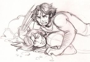 Wolverine protects his own by terrabm