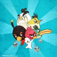 We Are The ANGRY BIRDS by DeeK-MantooF