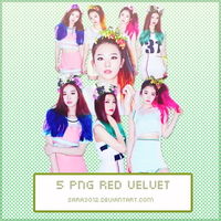 PACK PNG RED VELVET by sara3012