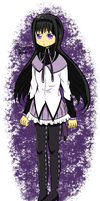 Homura by RANDOM-drawer357