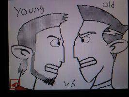 James Possible - Young vs Old by jordyxlife