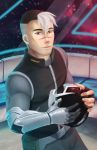 Shiro - VOLTRON +optional by Corrupted-Mooch