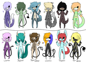 ::Cheap Adopts 7:: by Acid-Dripped-Adopts