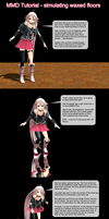 MMD Tutorial - simulating waxed floors by Trackdancer