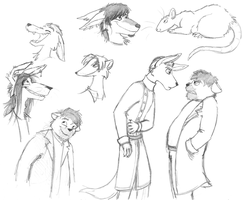Characters by LorinaDante