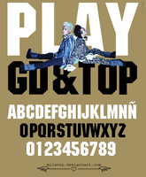 GD&TOP Font by Milevip