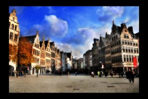 Grote Markt by digitaldreamz666