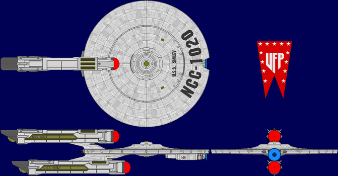 USS Smiley Multi-View by captshade