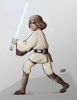 Luke Skywalker by gabeecm