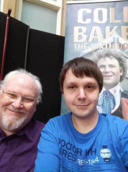Me And Colin Baker 2017 by Animedalek1