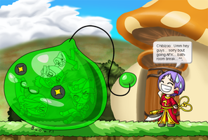 Maplestory - Oopsie... by SunnieF