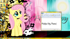 FlutterShy Windows 7 Theme by ZwamTek