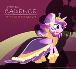 Princess Cadence: the Winter Gown by Reina-Kitsune