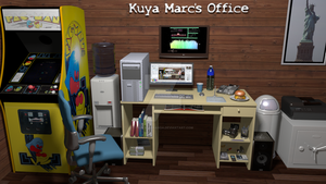 My Office, 3rd Revision, Enhanced by takeshimiranda