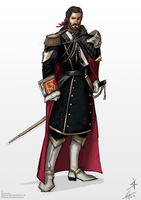 King Arlos Character Concept by NightmareGK13