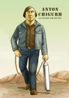 Anton Chigurh by sheilalala