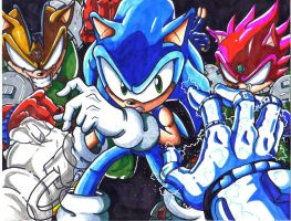 sonic comic cover 2 by trunks24