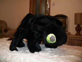 "40"" Toothless Plush by Sewpoke"