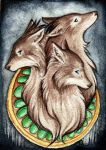 Cerberus ACEO by starwoodarts